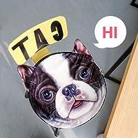 zealux® Comodo cute Doge Gatto Stampa Cotone