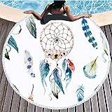 Losenlli Verano de Las Mujeres Toalla de Playa Impreso Cover Up Robe Traje de baño Pareos Beach Sarongs Esteras Bikini Beach Traje de baño Protector Solar Chal