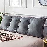 LIANGJUN Weiches Paket Kissen Kopfbrettkisse Große Rückenlehne, 5 Farben, 2 Größen Verfügbar Bettwäsche Zubehör (Farbe : 2#, größe : 120X50cm)