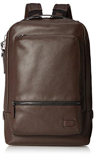 "Tumi Harrison - Bates Laptop Backpack 14"" Mochila Tipo Casual, 42 cm, 8.9 Liters, Marrón (Brown Pebbled)"