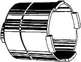 Kaiser 1088-02 Diamant-Schleifkrone 82x60mm f.Staubabsaugung