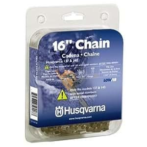Husqvarna 531308147 16-Inch 90SG-56 Lo-Pro Saw Chain, 3/8-Inch by .043-Inch