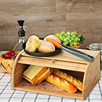 /Pan de Metal compacta Caja para Guardar el Pan en 40/a/ños Retro Dise/ño GranRosi Panera/ Metal Cream White