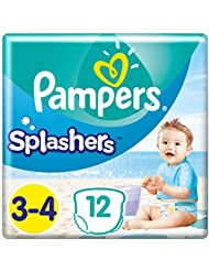 Pampers Splasher Swim Pants Carry Pack Size Size 3 x12