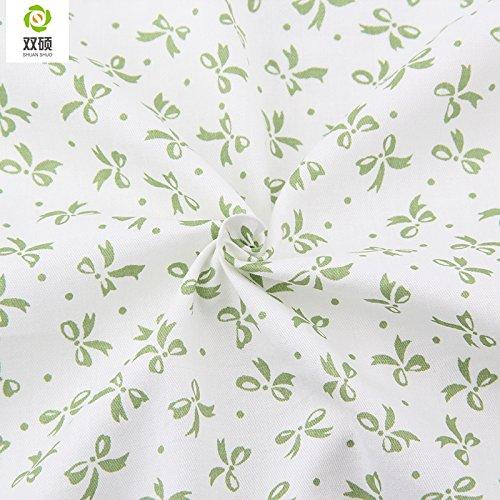 Reixus (TM) Butterfly Serie Baumwollstoff Kinder Vorhanggewebe N?hterrasse Patchwork Kreuz Tilde 160 * 50 cm