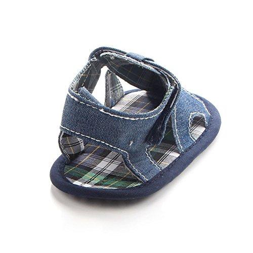 Etrack Lauflernschuhe Jungen Baby online Sandals Blau rxf4Or0qw