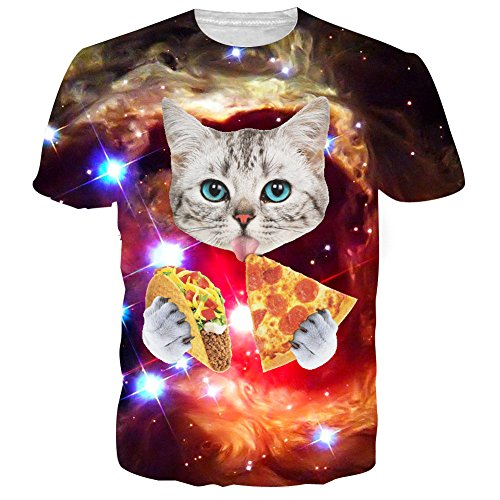 uideazone-3d-cat-men-eat-pizza-drole-tee-galaxy-graphic-t-shirt