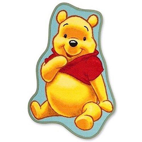 Monbeautapis 7262Disney Winnie The Pooh alfombra precortado poliamida amarillo 80x 50cm