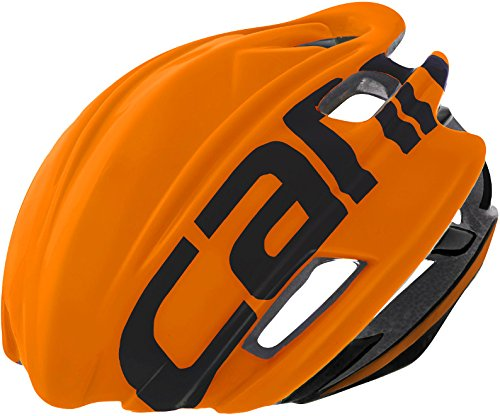 Cannondale Cypher Aero Rennrad Fahrrad Helm orange 2017: Größe: S/M (52-58cm)