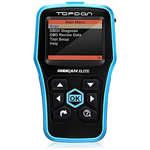 Car Diagnostic Tool, Topdon Professional Auto ABS Diagnostic Scanner Universal OBD2/OBDII Vehicle Engine Fault Code Reader Car Scan Tool