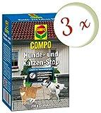 Oleanderhof® Sparset: 3 x COMPO Hunde- und Katzen-Stop, 200 g + gratis Oleanderhof Flyer