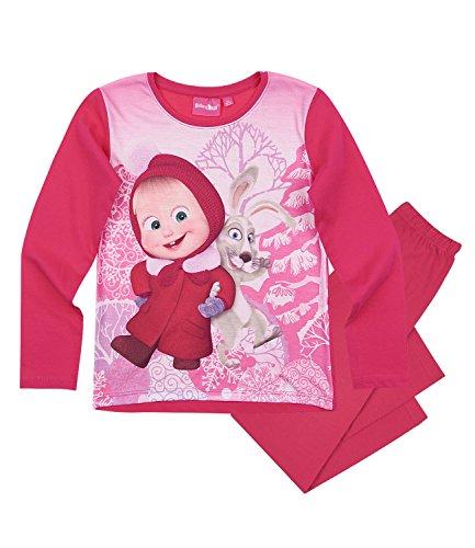 Masha e orso ragazze pigiama - fucsia - 116