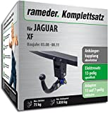 Rameder Komplettsatz, Anhängerkupplung Abnehmbar + 13pol Elektrik für Jaguar XF (114267-06720-2)