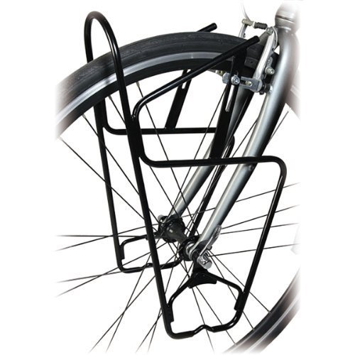 Minoura frp-3000 Front Pannier Fahrrad Rack for Touring Gold Cyclocross-Bikes by Cyclone Bicycle -