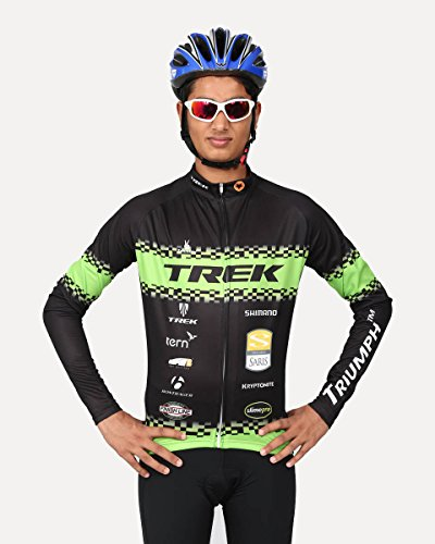 Triumph Firefox Mens cycling clothing jersey, Charcoal, SizeL