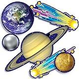 Scholastic - Decoraciones Murales - Figuras Troqueladas - Cut Outs - Solar System Accent - Punch-Outs - (Tf3289)