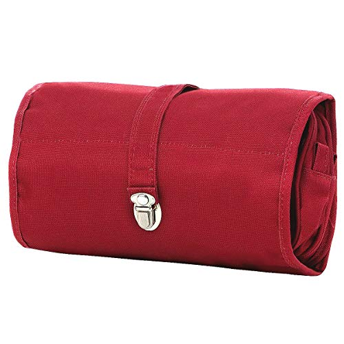 wrapcosmetic : 26 x 16 x 10 cm /26 x 54 x 10 cm expanded red