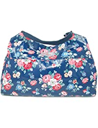Cath Kidston Open Tote - Forest Bunch Navy Oilcloth