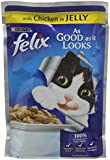 Felix As Good as It Looks Chicken, 100 g - Pack of 20
