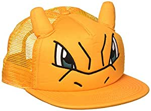 Nintendo Pokemon Charizard Big Face Snapback Casquettes de Camionneur