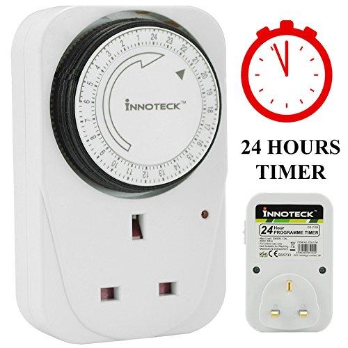 Uk-netzteil (ASAB 1 16 A 6 Pin programmierbar - 10 Stück 24 Stunden mechanische Timer UK Netzteil im Intervall Home Energy Saving, 1 Stück)