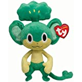 Ty Pokemon Pansage - Peluche, 15 cm
