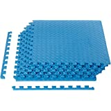 AmazonBasics Puzzle Exercise Mat with EVA Foam Interlocking Tiles