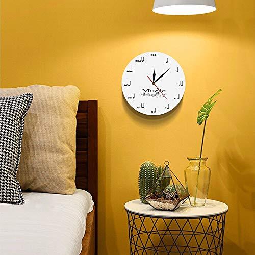 wanduhr modernes Design wanduhren acryl Uhren musikthema Uhr wanddekor für Wohnzimmer ()