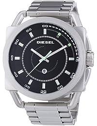 Diesel Herren-Armbanduhr XL Analog Quarz Edelstahl DZ1579
