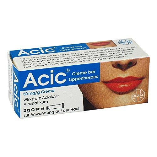 Acic bei Lippenherpes 2 g