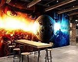 AJ WALLPAPER 3D Naruto 9 Japan Anime Fond d'écran Mur Peintures Murales Amovible Peinture Murale | Auto-adhésif Papier Peint FR Summer (Papier tissé (Besoin de Colle), 【 82'x58'】 208x146cm(WxH))