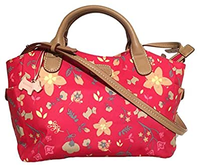 effc53a14e Radley New Oilskin Flower Burst Medium Multiway Zip Top Cross Body Bag In  Cersie Pink: Amazon.co.uk: Shoes & Bags