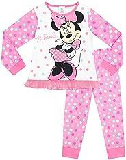 Disney Pigiama a Maniche Lunghe per Ragazze Minnie Mouse