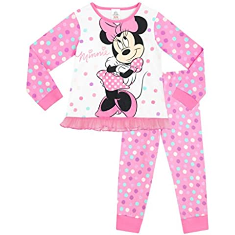 Disney Minnie Mouse - Pigiama a maniche lunghe per ragazze - Minnie Mouse