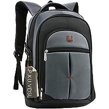 """Laptop Rucksack, P.K.U.VDSL 15"""" Laptop Backpack, 15 Zoll Notebook Backpack, Computer Rucksack Multifunktionsrucksack Wasserdicht Damen Herren Campus Rucksäcke mit mehreren Fächern für Schule Business"""
