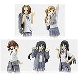 K-ON! 5. Jahrestag SQ Figur Azusa Nakano Yui Hirasawa Mio Akiyama Tainaka Rissh? Tsumugi Kotobuki ganze Reihe von 5