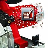 Einhell TE-XC 110 Universal Handkreissäge für Stahl, Aluminium, Holz, Kunststoff, Stein, Fließen und Gips, 730 W, Sägeblatt-Ø 110 mm, Tragetasche -