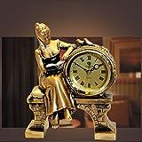 Horloge salon créative dame décoration horloge horloge antique quartz horloge