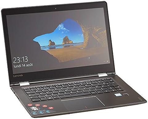Lenovo YOGA 510-14IKB Ultrabook tactile 14'' Noir (Intel Core i7, 8 Go de RAM, 256, Go, Intel HD Graphics, Windows 10)
