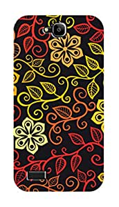 SWAG my CASE PRINTED BACK COVER FOR HUAWEI HONOR HOLLY Multicolor