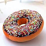 Kissen Donut ist niedlich Kissen Büro Kissen auto Sofa Bett Kissen Kinderzimmer Dekoration Geschenk, groß 60 CM, L HOSHEAW