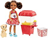 Barbie FHP68 Chelsea Puppe mit Popcorn-Stand