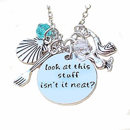 majesto–Inspirierende Halskette Anhänger für Frau Teen Mädchen in Sea Beach Jewelry Prime Geschenk