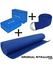 Strauss Anti-Skid Yoga Mat
