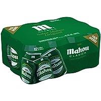Mahou Clásica - Cerveza, lata 33 cl (Pack de 12)
