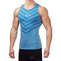 SMILODOX Tank Top Herren | Seamless - Muskelshirt mit Aufdruck für Sport Gym Fitness & Bodybuilding | Muscle Shirt - Unterhemd - Achselshirt Trainingshirt Kurzarm