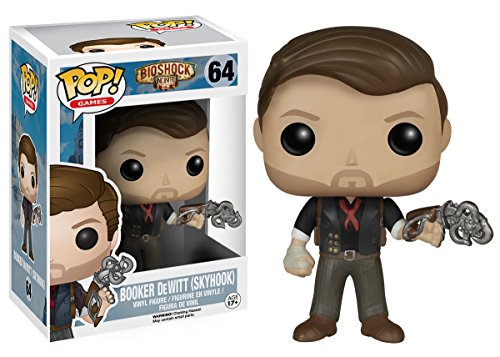 Funko Pop Booker DeWitt & Skyhook 9 cm Funko Pop Bioshock
