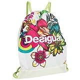 Desigual Damen Tasche Bols gymsack T, Beige, 0.1 x 0.1 x 0.1 cm, 1 Liter, 60X5SB0