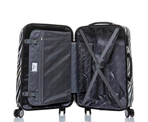 Reisekoffer 2060 Hartschalen Trolley Kofferset in 12 Motiven SET--XL-L--M-- Beutycase (NewYork, 3er Set(XL+L+M)) - 8
