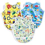 Superbottoms wetproof Apron Bibs - Pack of 3 (Toddler Size)